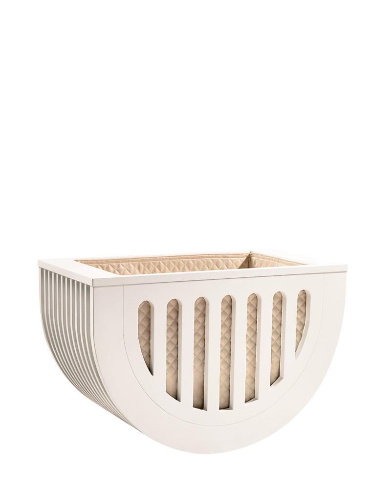 Moveo Mini Crib White Edition