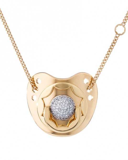 Dodo Dummy in Diamond and Pure Gold