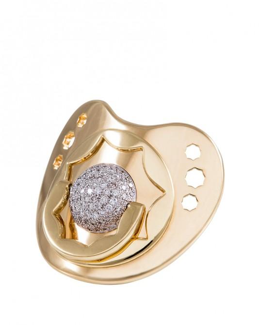 Dodo Dummy in Diamond and Pure Gold