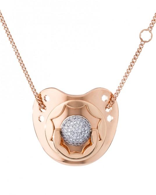 Dodo Dummy in Diamond and Rose Gold