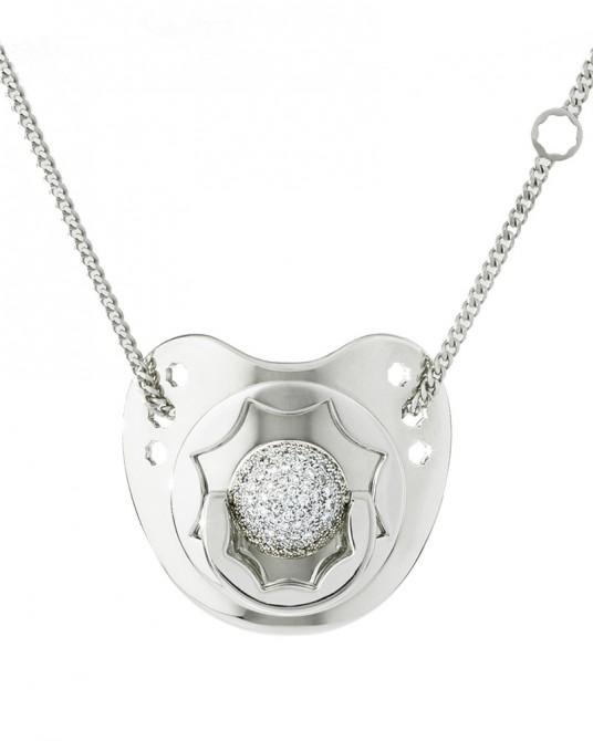 Dodo Dummy in Diamond and White Gold